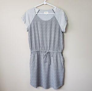 Lou & Grey Drawstring Waist Dress with Pockets